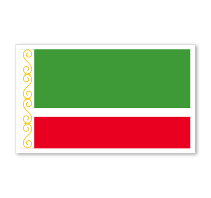 Chechen Republic Flag